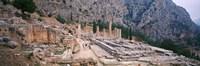 Ruins of a Stadium, Delphi, Greece Fine Art Print