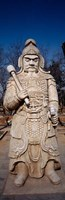 Close-up of a Statue, Ming Temple, China Fine Art Print