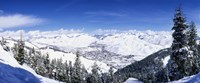 Ski Slopes in Sun Valley, Idaho Fine Art Print