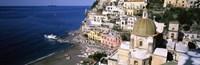 Positano, Amalfi Coast, Salerno, Campania, Italy Fine Art Print