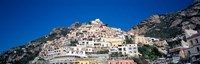 Town on mountains, Positano, Amalfi Coast, Campania, Italy Fine Art Print