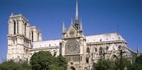 View of the Notre Dame, Paris, Ile-De-France, France Fine Art Print