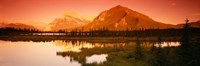 View of the Mt Rundle, Banff National Park, Alberta, Canada Fine Art Print
