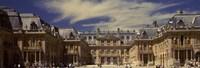 Facade of Chateau de Versailles, Versailles, France Fine Art Print