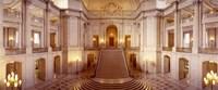 Interiors of City Hall, San Francisco, California Fine Art Print
