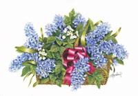 Basket of Blue Fine Art Print