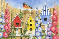 Bird House Row Fine Art Print