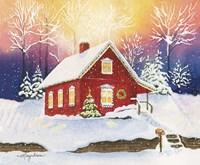 Christmas Eve Magic Fine Art Print