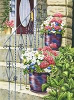 Butchart Gardens Steps Fine Art Print