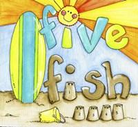Five Fish Compliment Fine Art Print