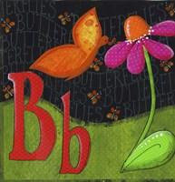 B is for Butterfly Fine Art Print