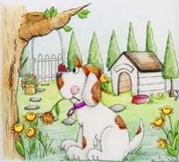 Doggy Delight Fine Art Print