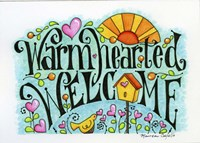 Warm Hearted Welcome Fine Art Print