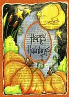 Happy Hauntings Fine Art Print