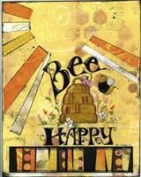Bee Hive Happ Fine Art Print