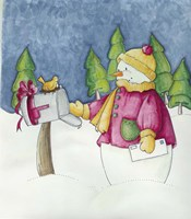 Holiday Mail Fine Art Print