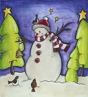 Winter Friends Fine Art Print