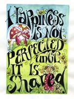 Share Happiness Fine Art Print