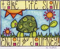 Color Turtle Fine Art Print
