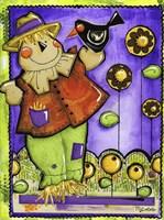 Scarecrow And Company Fine Art Print
