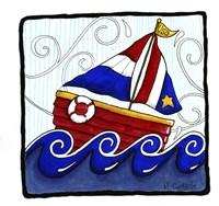USA Boat Fine Art Print