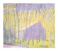 Saltbox Barn Fine Art Print