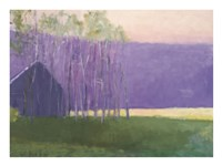 Barn in a Soft Light, 2002 Fine Art Print