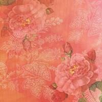 Peach Roses Fine Art Print