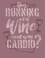 Running Out of Wine Fine Art Print
