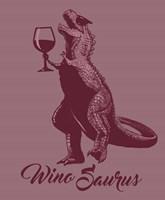 WinoSaurus Fine Art Print