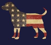 American Dog Fine Art Print