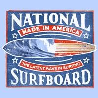 National Surfboard Fine Art Print