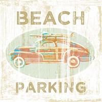 Beach Parking Fine Art Print