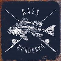 Bass Murderer Fine Art Print