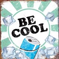 Be Cool Framed Print