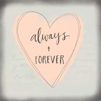 Always + Forever Fine Art Print