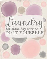 Do It Yourself Laundry Fine Art Print