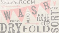 Vintage Laundry Room Fine Art Print