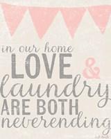 Neverending Laundry Fine Art Print