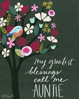 Auntie Fine Art Print