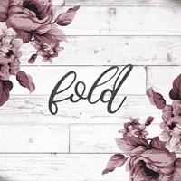Fold Script Fine Art Print