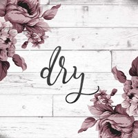 Dry Script Fine Art Print