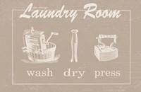 Vintage Laundry Fine Art Print