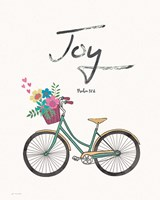 Joy (bike) Fine Art Print