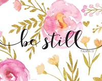 Be Still Floral Fine Art Print