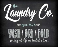 Laundry Co. Fine Art Print