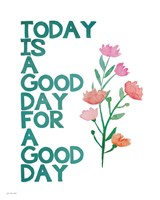 A Good Day Fine Art Print