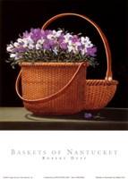 Baskets of Nantucket Fine Art Print