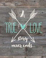 True Love Story Fine Art Print