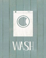 Wash House Wash Fine Art Print